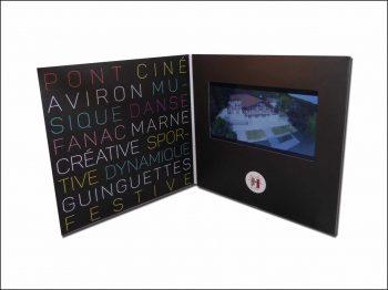 Plaquette vidéo écran LCD 7 pouces