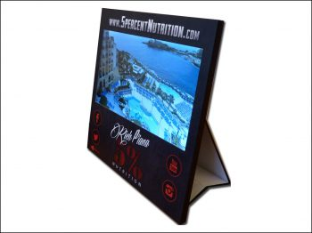PLV – Display vidéo écran LCD présentoir